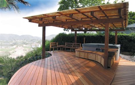 Deck Patio Design Tub Deck Interior Design Ideas