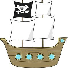 Pirate Ship Template by 1000 Ideas About Pirate Template On Templates