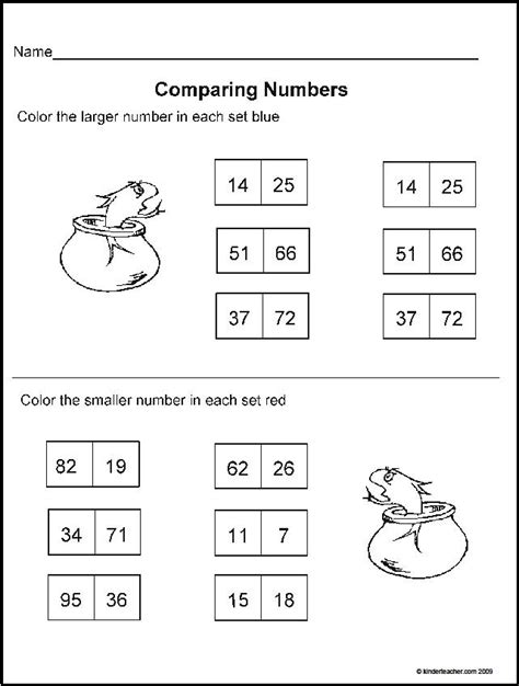 Dr Seuss Math Worksheets by March Homework