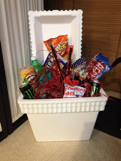 s day gift baskets food cooler s day gift basket auction basket