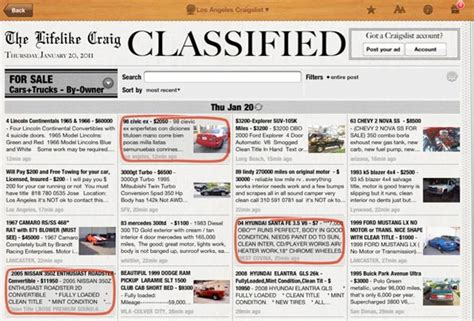 Classified Section Of Newspaper by Lifelike Craig Hd Cool