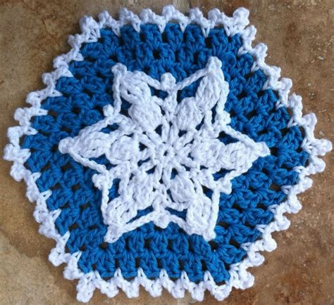 snowflake knitting pattern free snowflake dishcloth free pattern knitting and crochet