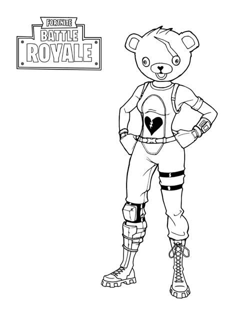 dark voyager  fortnite battle royale coloring page