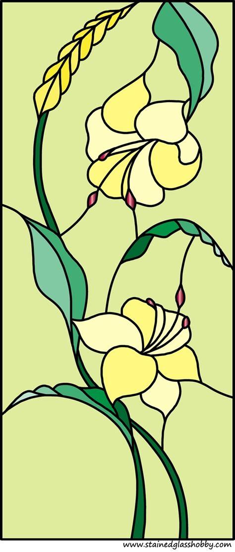 flower design in glass flower 4 stained glass design