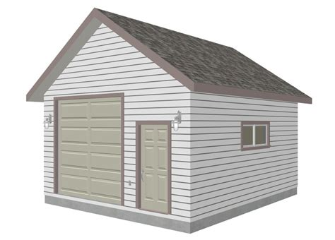 16 X 24 Garage Plans by 16x24 Cabin Loft Gambrel Joy Studio Design Gallery