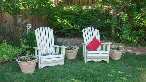 In The Backyard Or On The Backyard by Free Photo Backyard Chairs Leisure Garden Free Image