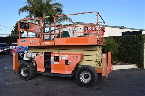 2007 jlg 4394rt scissor lift for sale 1 301 hours