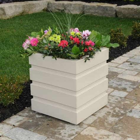 freeport 5860 deck patio flower planter box by mayne