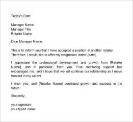 Two Weeks Notice Letter Template Two Weeks Notice Letter 12 Download Free Documents In Word