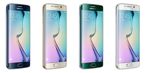 Samsung Galaxy S6 Colors samsung galaxy s6 and galaxy s6 edge colors droid
