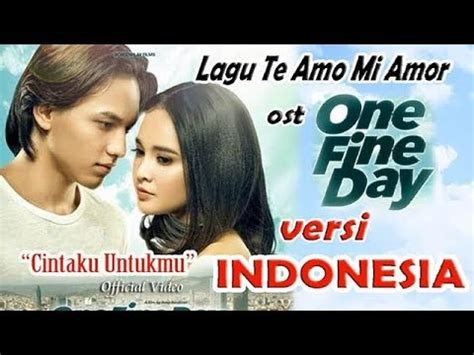Download Lagu One Fine Day | 3 15 mb download lagu te amo mi amor ost one fine day