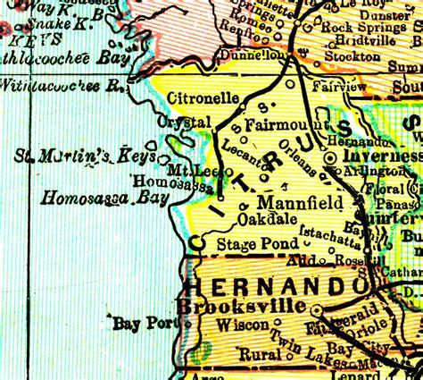 Citrus County Search Citrus County Plat Maps Images