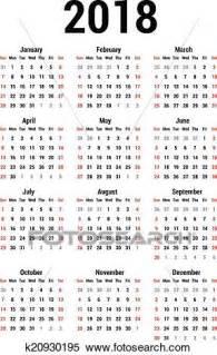 clipart calendario clipart calend 225 2018 k20930195 busca de