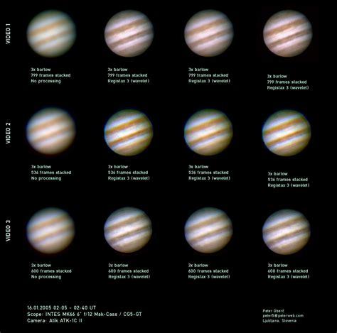 what color is jupiter jupiter with mk66 solar system imaging processing