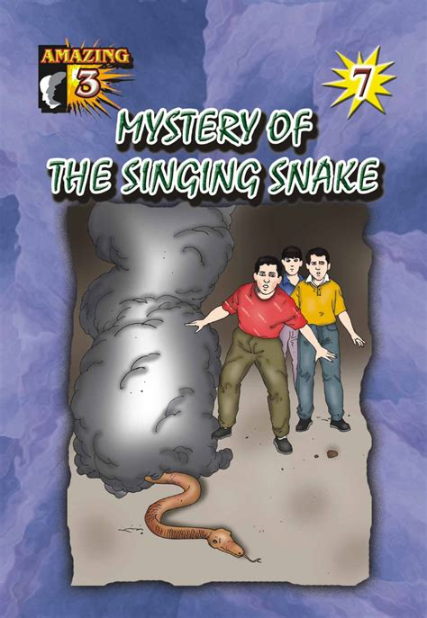 Vol 71 Murah mystery of the singing snake 7 fargoes books sdn bhd
