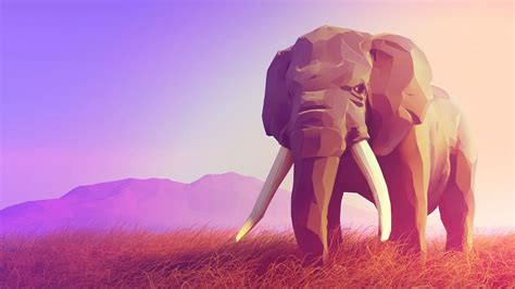 abstract elephant wallpaper polygon elephant wallpapers images photos pictures backgrounds