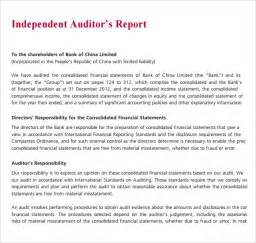 audit report templates sle audit report 6 documents in pdf
