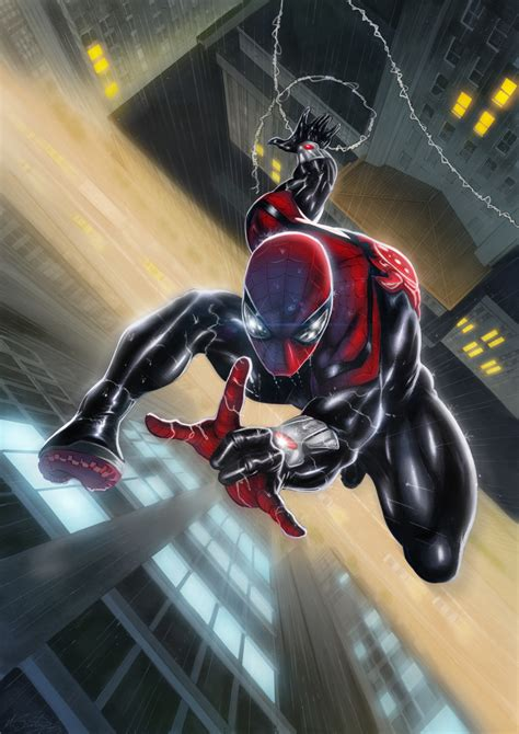 Heroes Valiant Brown Original superior spider line by marco santucci colors