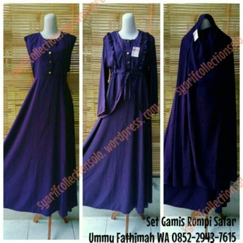 Set Setelan Muslim Murah Setelan Balotelly Harga Murah set jubah akhwat syarif collection