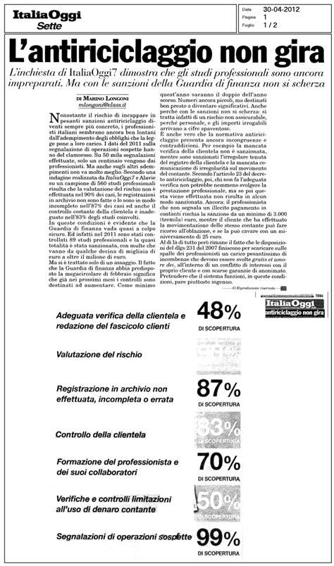 norme antiriciclaggio commercialisti e antiriciclaggio inadempimenti l