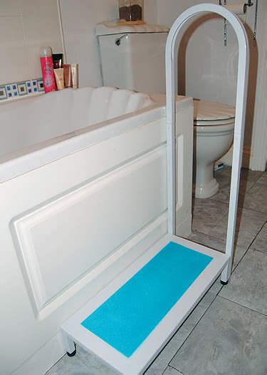 bathtub with steps s s bath step with handle