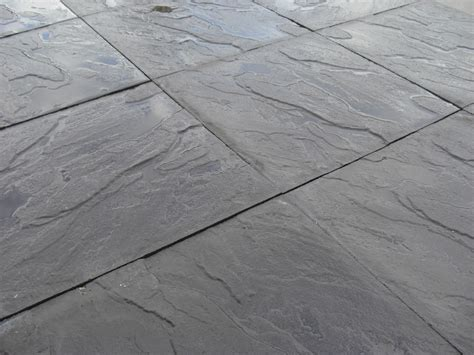 cheap paving slabs delivered 450 x 450mm black patio