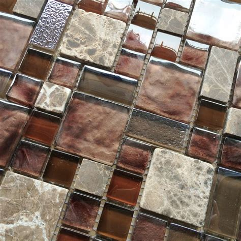 burgundy glass mosaic wall tile mosaic kitchen