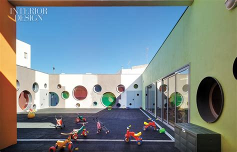 Designing Office Space join the fun a playful daycare center in spain by elap