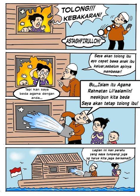 komik islamophobia dibalas aksi nyata islam rahmatan lil
