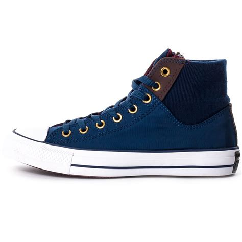 converse all ma 1 zip mens trainers in navy