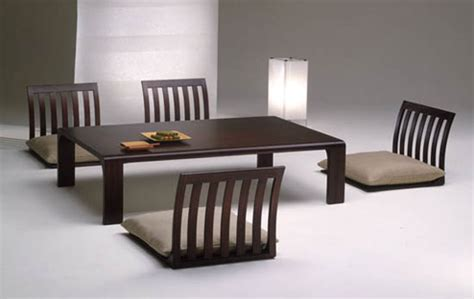 japanese dining room table japanese dining room furniture from hara design