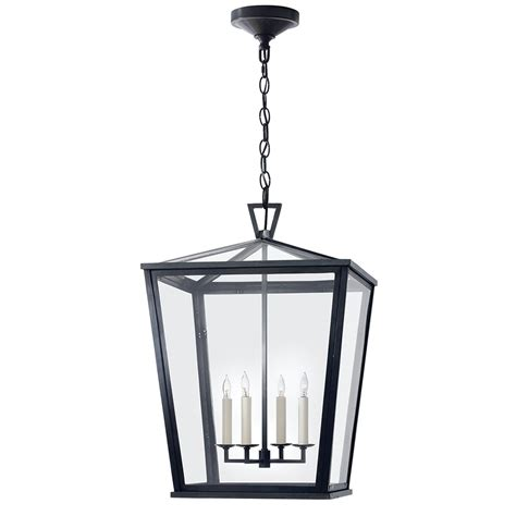 Large Lantern Pendant Light Visual Comfort Outdoor Darlana Large Outdoor Hanging Lantern