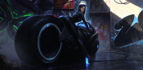 Fantasy Motorrad Bilder by Bilder Cyberbike Cyberpunk Fantasy Motorrad M 228 Dchens
