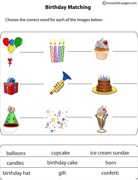 guess my word 35 food items worksheet free happy birthday worksheets outs