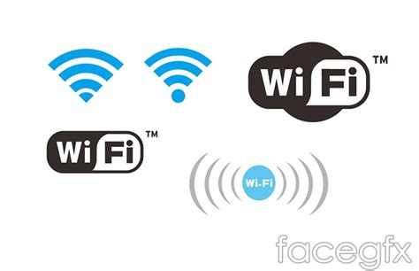 tutorial logo wifi wireless network wifi icon vector over millions vectors