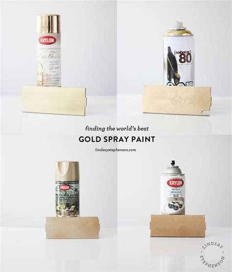 the best gold spray paint lindsay stephenson