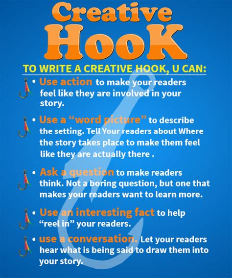 Different Types Of Essay Hooks by Hook Definition Types Writing Creating