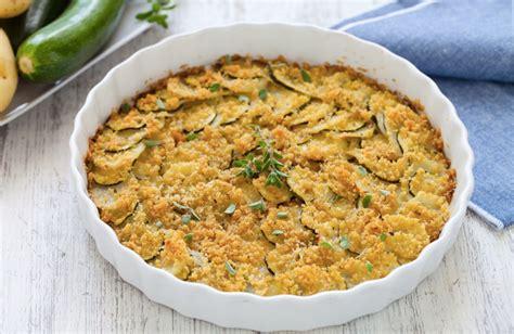 cosa cucinare con le zucchine ricetta zucchine e patate gratinate cucchiaio d argento
