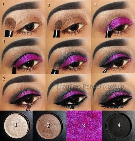 younique tutorial eyeliner step by step eye makeup pics my collection eyeshadow