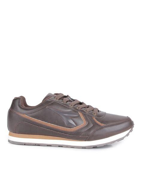 Sepatu Diadora Brown diadora bruno s casual sneaker cokelat mataharimall