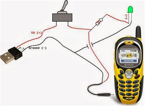 make your own usb charger diy make your own usb cell phone charger techgroovers