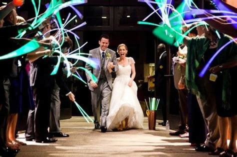 Wedding Exit Ideas by 24 Non Traditional Wedding Send Ideas Brit Co