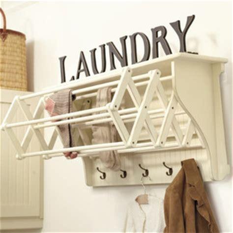 ballard design laundry room corday accordian drying racks farmhouse drying racks