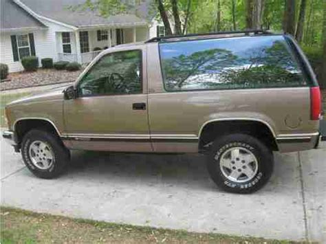 1994 Chevy Tahoe 2 Door by Find Used 1994 Chevrolet Blazer 2 Door 4x4 Tahoe