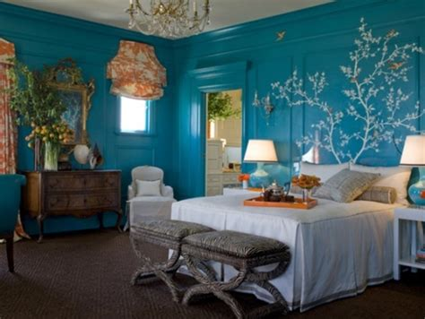 blue and orange room blue and orange bedroom walls design bookmark 14089