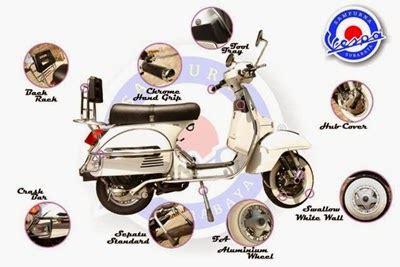 Tas Motor Vespa tas vespa bandung pentingnya aksesoris motor vespa