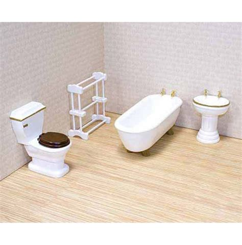 Dolls House Bathroom Furniture Dollhouse Bathroom Furniture Set Doug