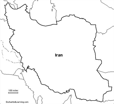 iran map coloring page outline map research activity 2 iraq