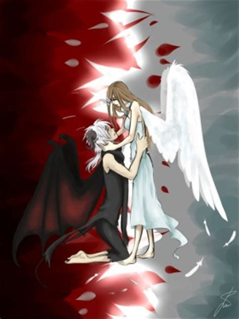 angel  demon love quotes quotesgram