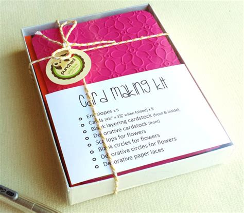 christmas gifts for mom from daughter card making kit diy greeting cards gifts for mom wife kids